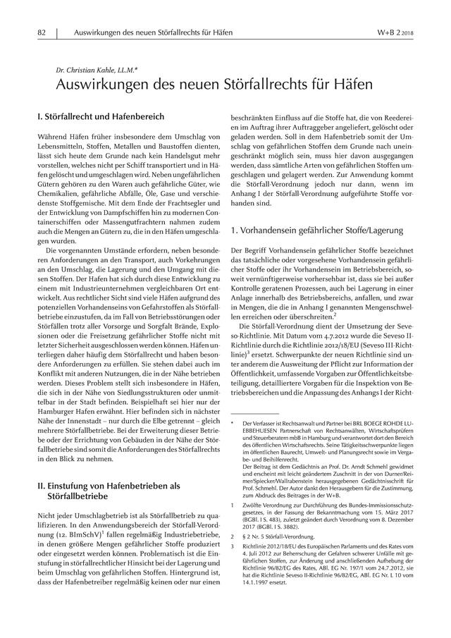 W+B - Zeitschrift für Deutsches und Europäisches Wasser-, Abwasser ...